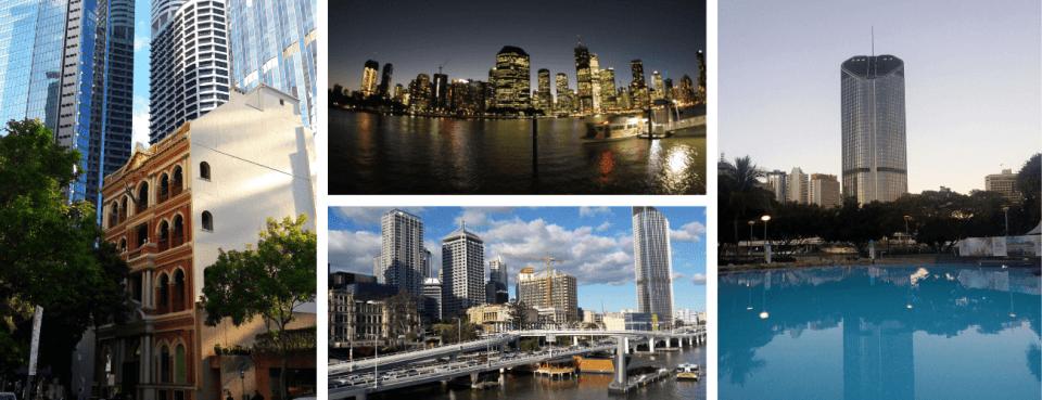 Brisbane city Australie côte Est
