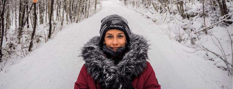 s'habiller en hiver au canada
