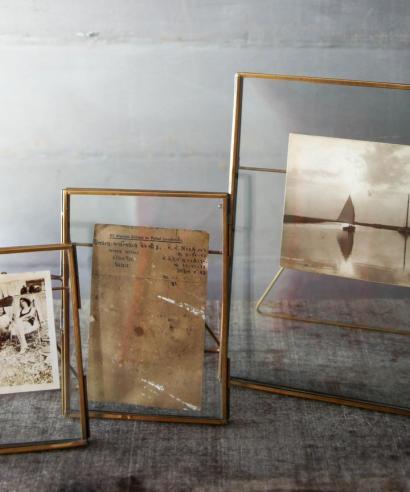tavelram återvunnet glas