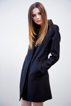 Ali Noir Coat