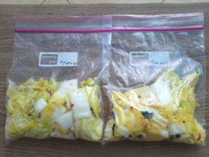 乳酸菌140倍の白菜のマリネ