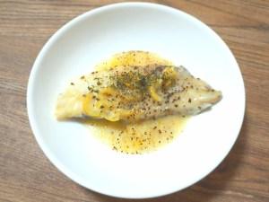 低温調理でふっくら柔らか鱈の塩レモン焼き