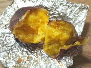 無水鍋でシルクスイートの焼き芋