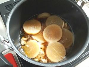 シャトルシェフで鶏大根の煮物
