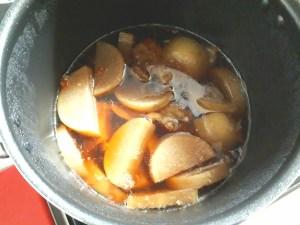 シャトルシェフの煮込み和風スペアリブレシピ