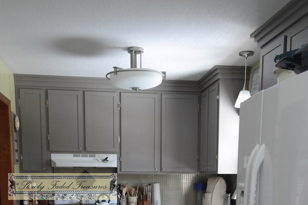 how much to remodel kitchen pendant lighting over island creating craftsman style crown molding for ...