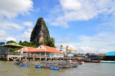 Phang Nga Bay - Ko Panyi, floating village
