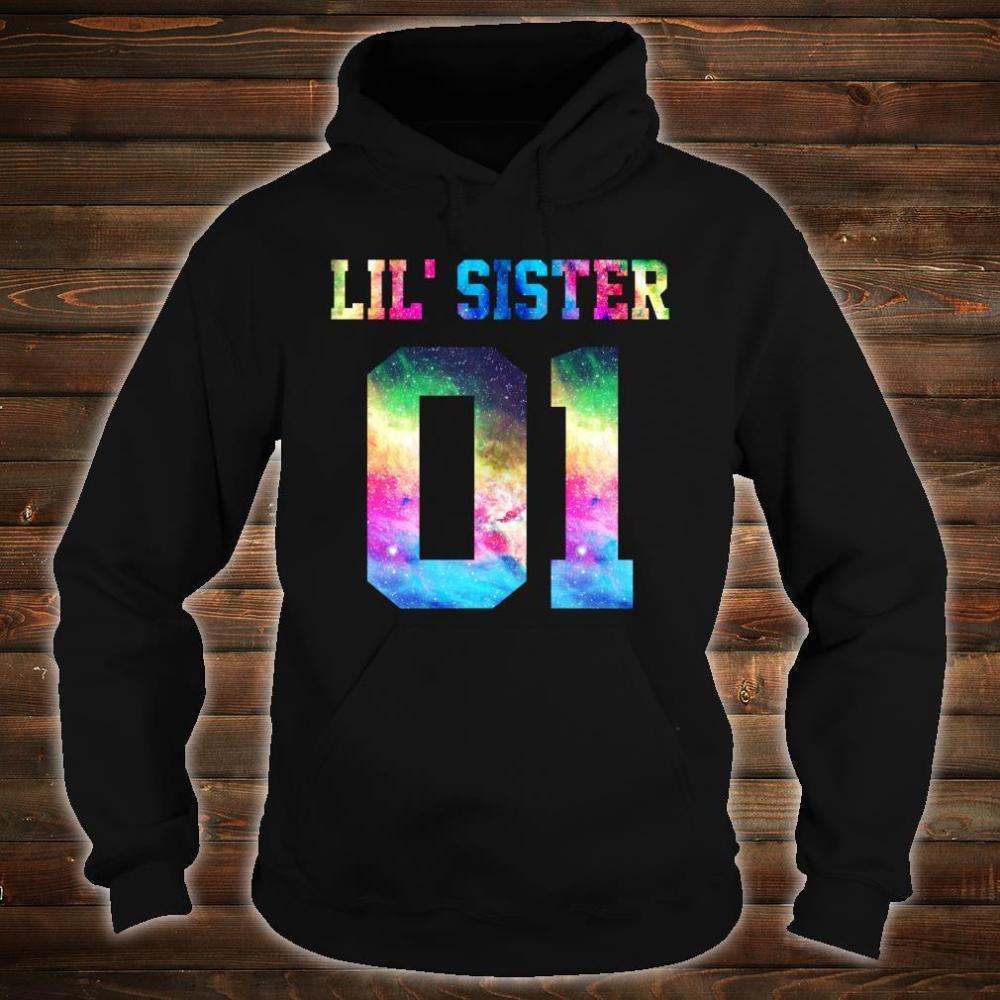 01 big sister 01 mid sister 01 lil' sister for 3 sisters Shirt hoodie
