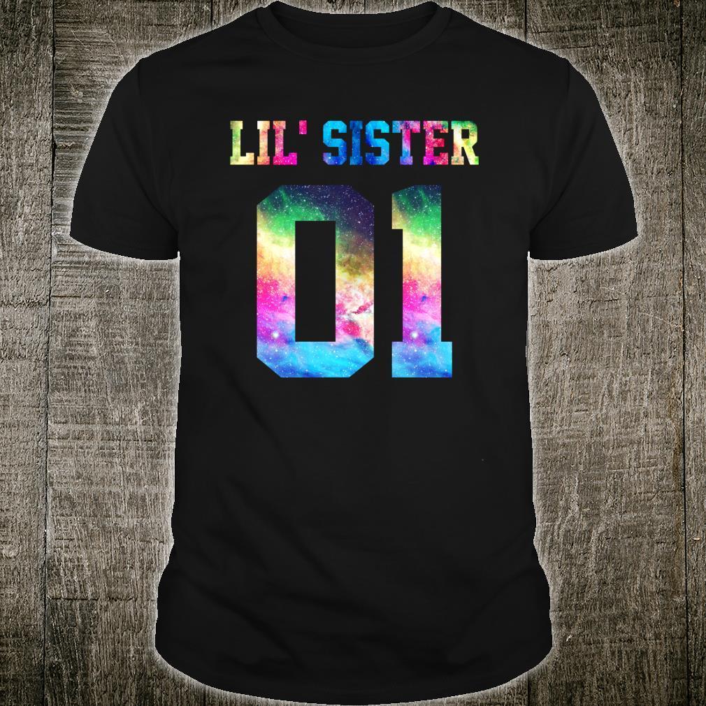 01 big sister 01 mid sister 01 lil' sister for 3 sisters Shirt