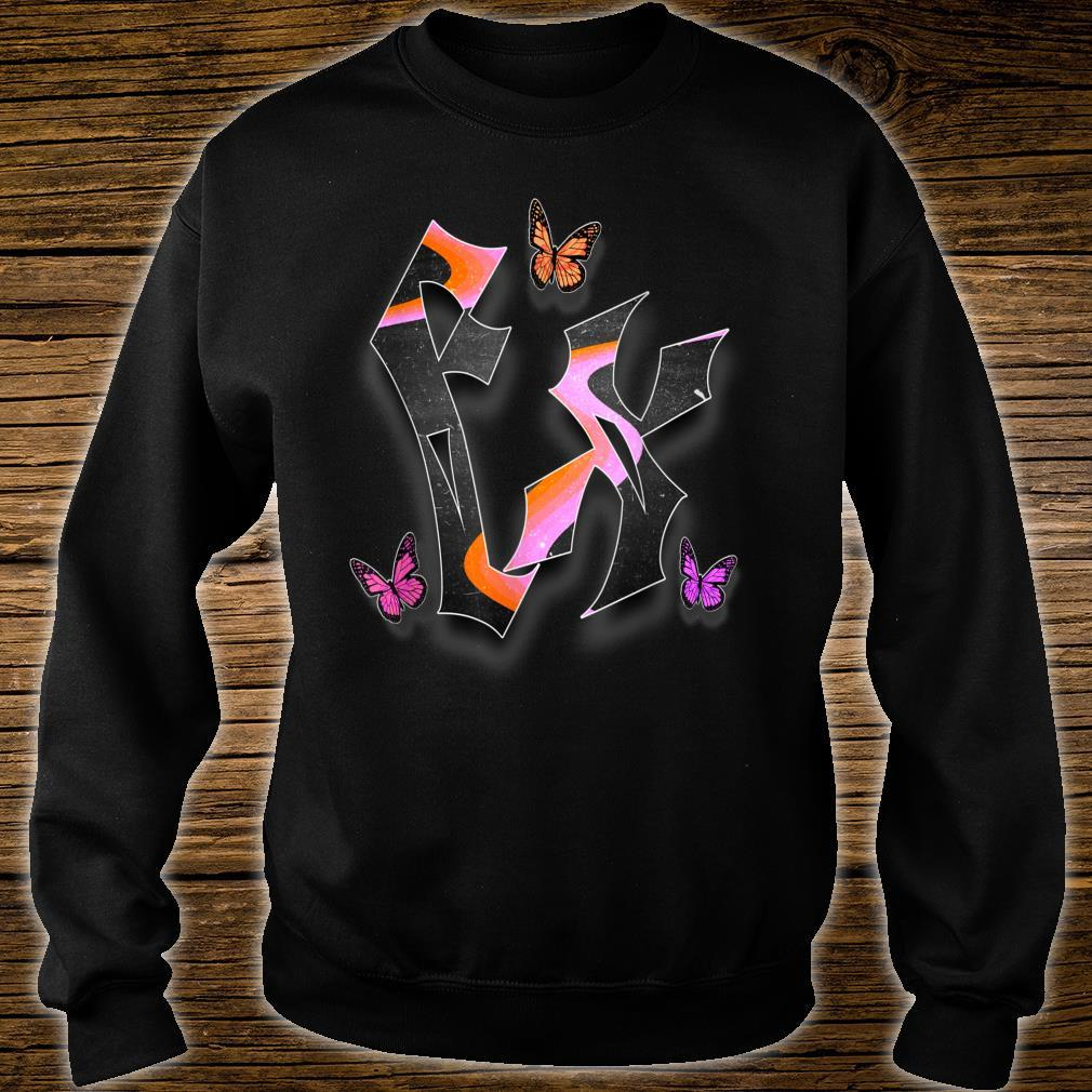 'FLY FX' from the Butterfly FX Collection Shirt sweater