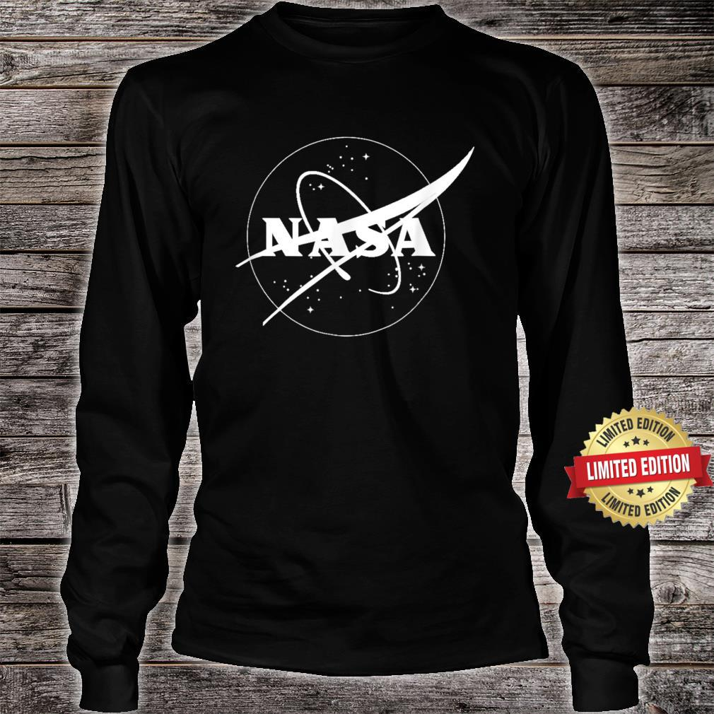 The Official One Color NASA Insignia Shirt long sleeved