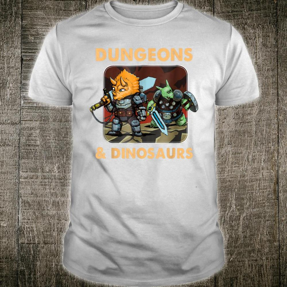 Vintage Dungeons And Dinosaurs Shirt