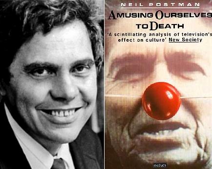 닐 포스트만(1931 – 2003)과 그가 쓴 '죽도록 즐기기'(1985)