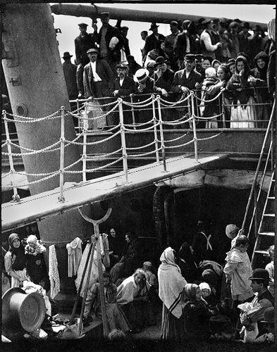 알프레드 스티글리츠, [삼등선실(The Steerage)], 1907년