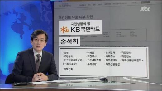 손석희 개인정보 유출