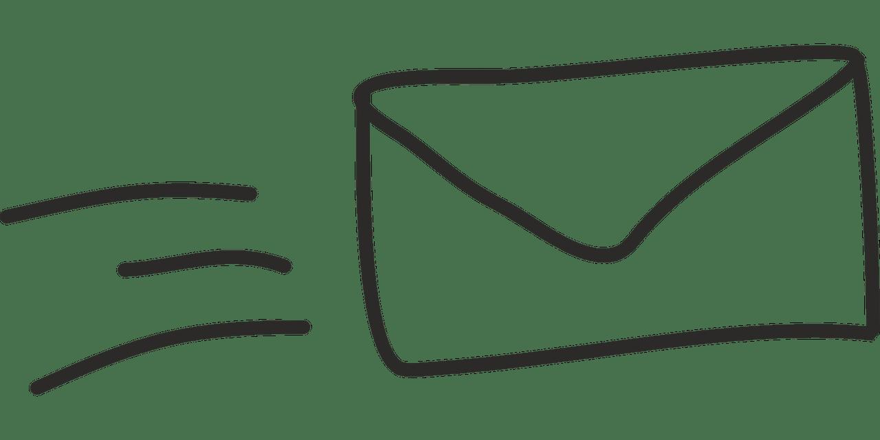 이메일 편지