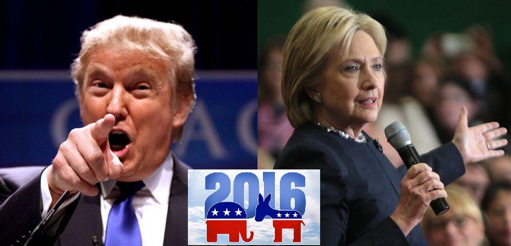 트럼프의 충격적인 승리로 끝난 2016년 미국 대선