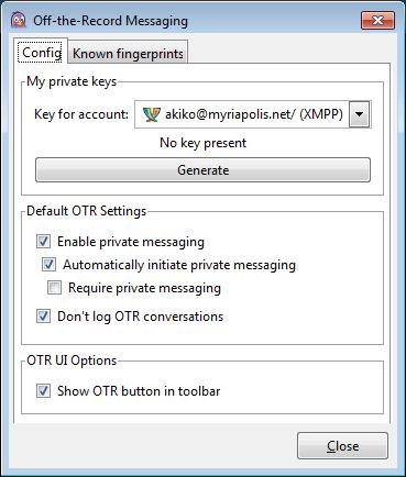 보안 메신저 OTR + Pidgin #25