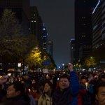 박근혜 퇴진 촛불집회 (2016년 11월 19일, 사진 제공: 옥토)