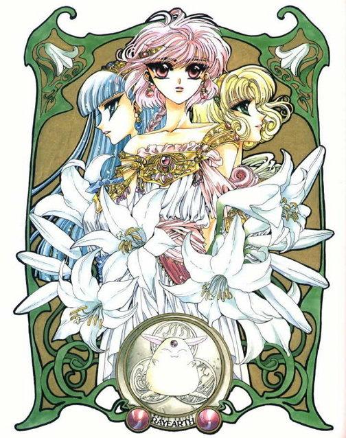 클램프의 만화이자 애니메이션, [마법기사 레이어스],1995년