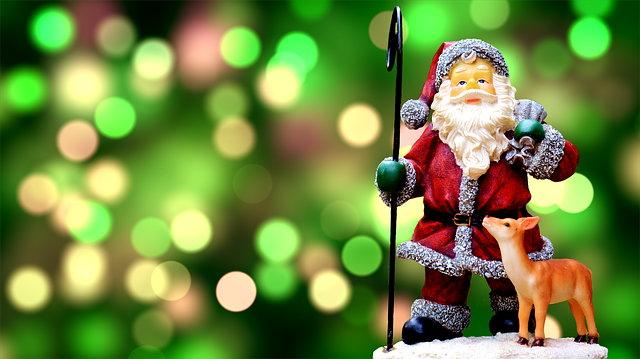 크리스마스 산타 트리 사슴