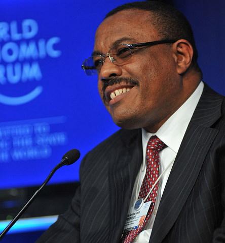 세계경제포럼(WEF)에 참석한 하일레마리암 데살렌 (2011, 출처: CC BY SA 2.0) https://www.flickr.com/people/15237218@N00