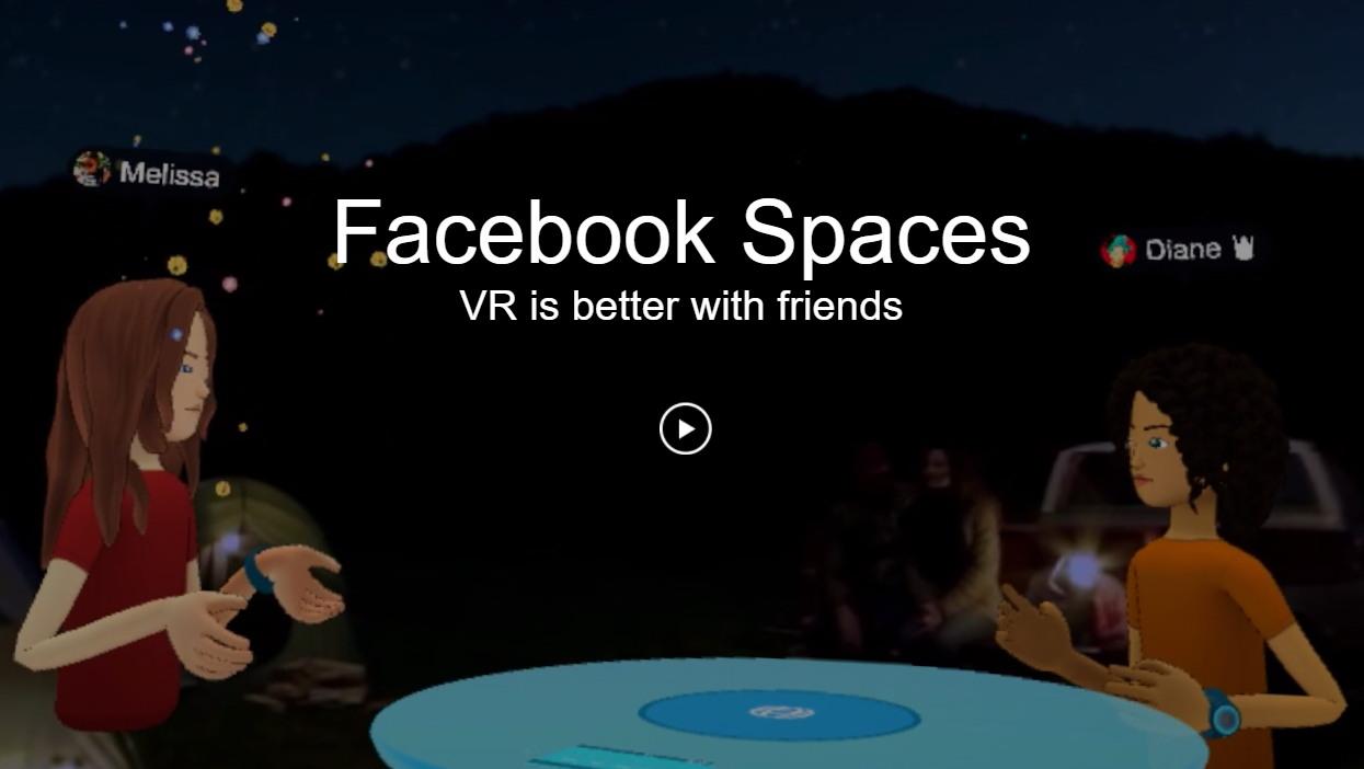 페이스북 스페이스 https://www.facebook.com/spaces