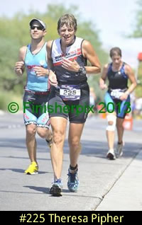 2013 Ironman 70.3 World Championship competitor Theresa Pipher