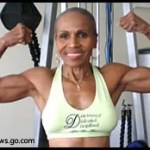 Photo of bodybuilder Ernestine Shepherd. Photo credit to ABC News