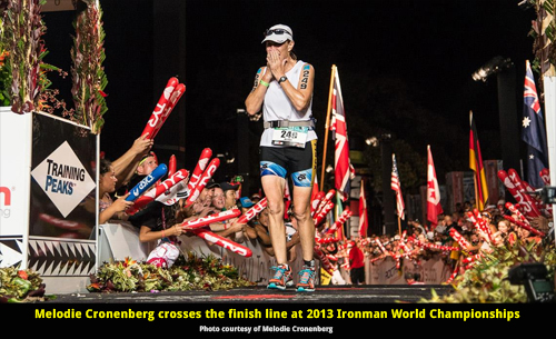 2015 Ironman World Championships Results for Female Triathletes Age 40+