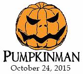 Pumpkinman Triathlon logo and 2015 date