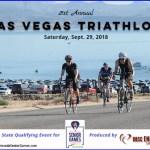 Las Vegas Triathlon sprint race is Nevada Senior Games' triathlon in partnership with BBSC Endurance Sports