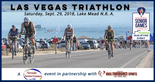 Nevada Senior Games' 2018 Triathlon Athlete Guide