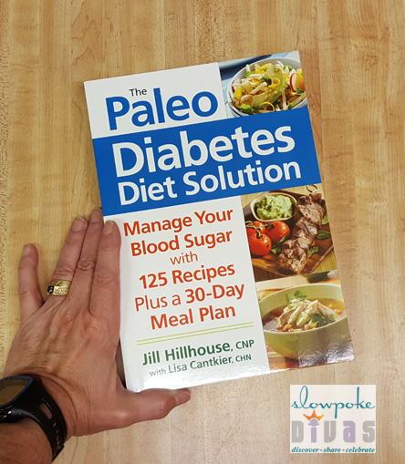 """Cover of """"The Paleo Diabetes Diet Solution"""" by Jill Hillhouse"""