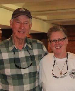 photo of Gene Prater and Karen Whelan