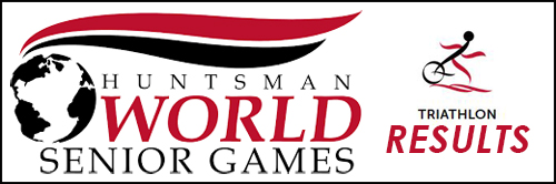 "Image saying ""Huntsman World Senior Games triathlon results"""