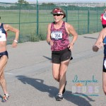 Three senior women compete in 2019 National Senior Games 5K race walk