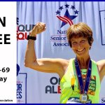 Ellen Jaffee 2019 national senior games