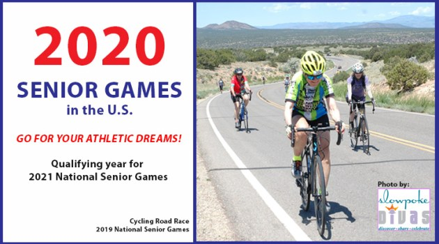 text plus women cyclists 2019 national senior games