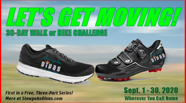 Let's Get Moving 30-Day Walk Bike Challenge image