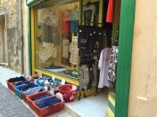 Another kind of visual merchandising in Victoria, Gozo