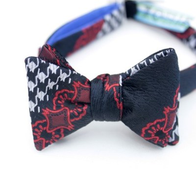 harlequin freestyle bow tie