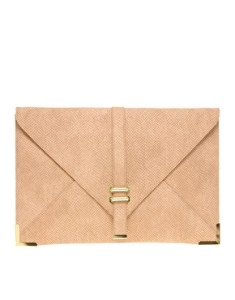 Image 1 of ASOS Slot Through Portfolio Clutch