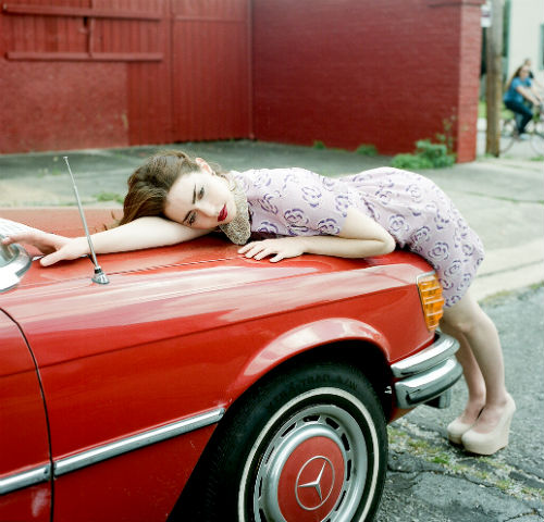 Exclusive Photoshoot Vintage Cars And Clothes From Revival Outpost