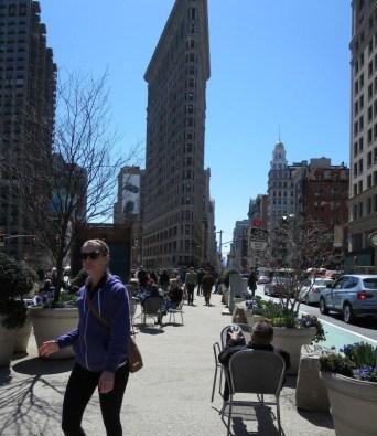 New Public Space by Madison Square Park in New York City