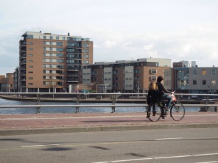 Worry-free cycling is only possible when you don't have to mix with traffic often