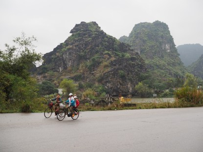 Cycling in Rural Vietnam, Ninh Binh