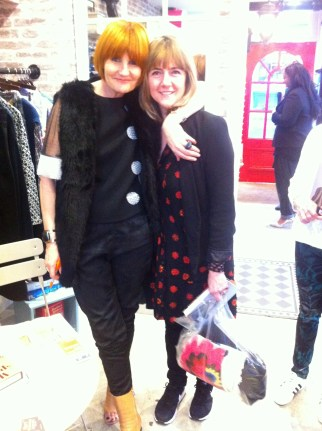 Mary Portas and Emma Neuberg at Save The Children in Highgate, 2015