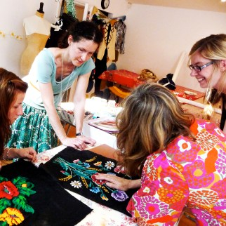 Slow Textiles Group Meet Up Share event (designed, devised and delivered by Emma Neuberg)
