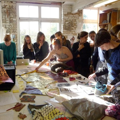 Slow Textiles Group Meet Up event (designed, devised and delivered by Emma Neuberg)